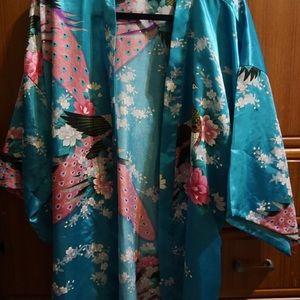 Simplicity Intimates & Sleepwear - Bridesmaid Flowery Robe / Duster by Simplicity